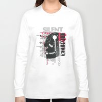 silent Long Sleeve T-shirts featuring Silent by Tshirt-Factory