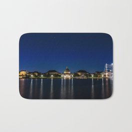 Clear Night in Copenhagen Bath Mat