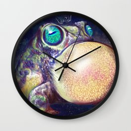 The King of Infinate Space Wall Clock