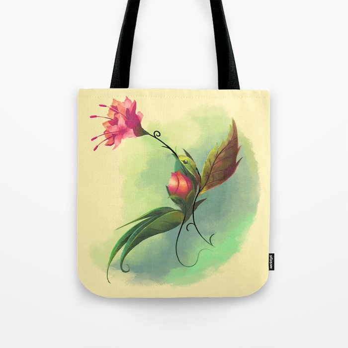 Essence of Nature - Humming Blossom Tote Bag
