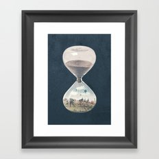 There's A City Where Time Stopped Long Ago Framed Art Print