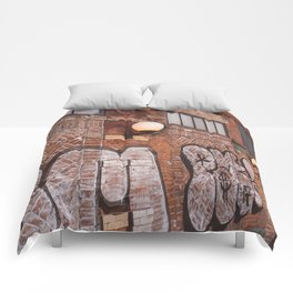 East Village Streets III Comforters