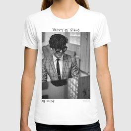 Birds in the Boneyard, Print 15: Petey at the Piano T-shirt