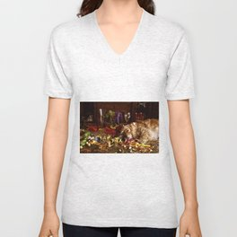 After The Party Unisex V-Neck