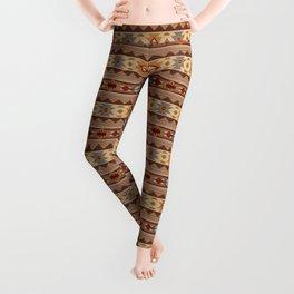 Southwest Design Tan Leggings