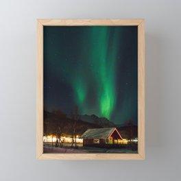Under The Lights Framed Mini Art Print