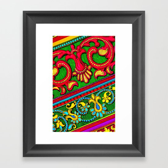 The Ornament of the Pop Palace 4 Framed Art Print