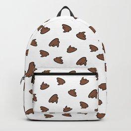 Poo pattern hehe Backpack