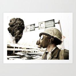 War, War Never Changes Art Print
