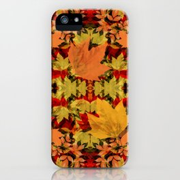 Leaves all Around iPhone Case