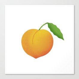 Sweet peach. Canvas Print