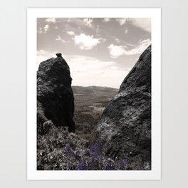 Thinking Cap, Saddle Mountain, Oregon Art Print