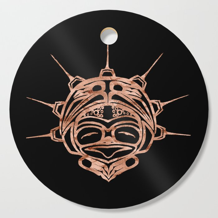 Copper Frog Ink Cutting Board