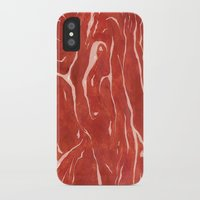 meat iPhone & iPod Cases featuring Meat! by Tiffany Chan Illustration