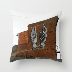Chains Be Free. Lord Rescue Me Throw Pillow