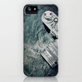 retro leica camera iPhone Case