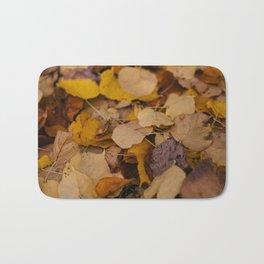 Fallen Leaves Bath Mat