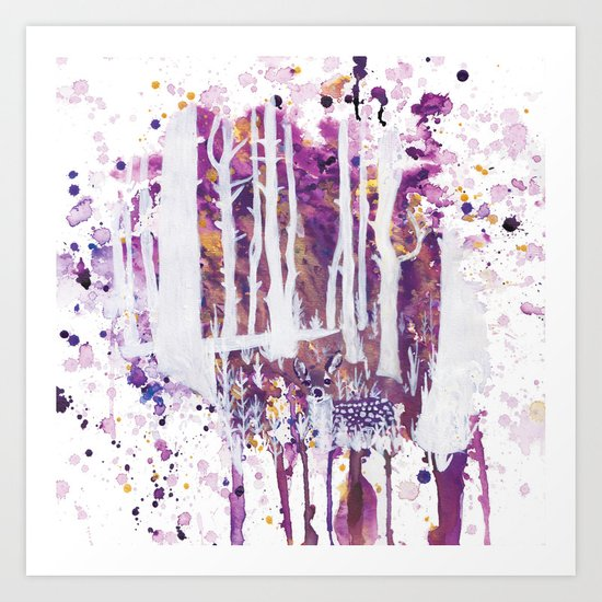 Phantom Forest Art Print