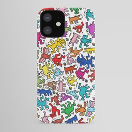 Figures Keith Haring iPhone Case