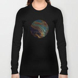Peacock Ocean Long Sleeve T-shirt