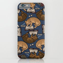 Book Cats iPhone Case