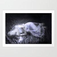 Aging Death: Veil Art Print