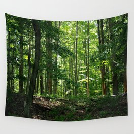 Pine tree woods Wall Tapestry