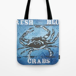 Fresh Blue Crabs Tote Bag