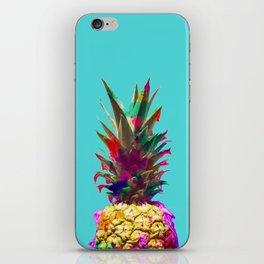 Colorful pineapple iPhone Skin