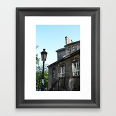 The apartments of Montmartre  version 2 Framed Art Print