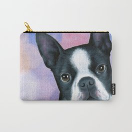 Dog 128 Boston Terrier Carry-All Pouch