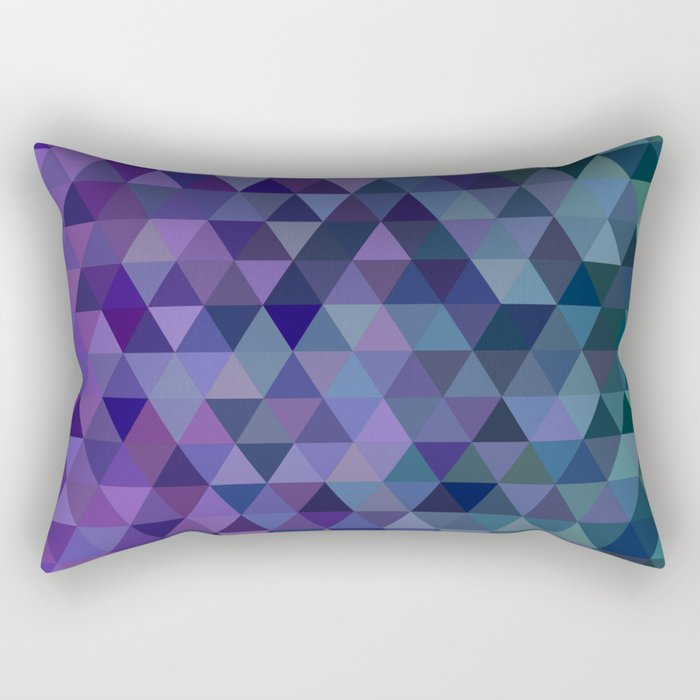 Triangle tiles Rectangular Pillow