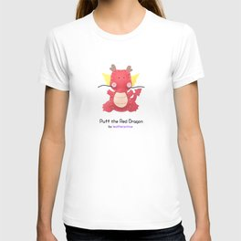 Puff the Red Dragon by leatherprince T-shirt