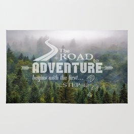 The Road To Adventure Rug