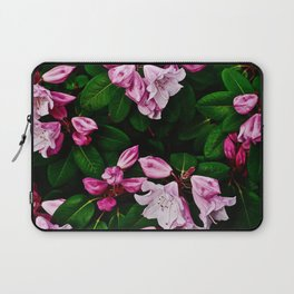 Spring Pink Rhododendron Laptop Sleeve