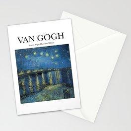 Van Gogh - Starry Night Over the Rhône Stationery Cards