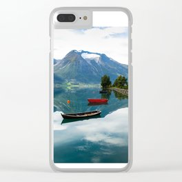 Beautiful Hjelle, Norway Clear iPhone Case