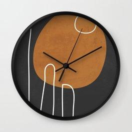 Abstract Art 40 Wall Clock