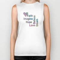 inspirational Biker Tanks featuring Inspirational by LLL Creations