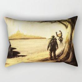 Legend of Zelda: Twilight Symphony Poster Rectangular Pillow