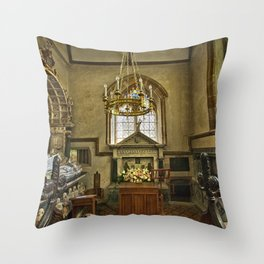 St Margaret of Antioch Isfield Throw Pillow