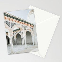 Mausoleum Of Habib Bourguiba Photo | Travel Photography | Monastir Tunisia Architecture Stationery Cards