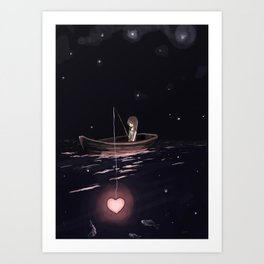 There Are Plenty of Other Fish in the Sea Art Print
