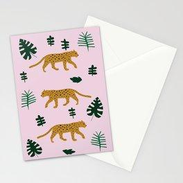 Leopard Jungle Print Stationery Cards