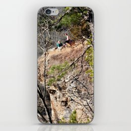 Climbing Up Sparrowhawk Mountain above the Illinois River, No. 4 of 8 iPhone Skin