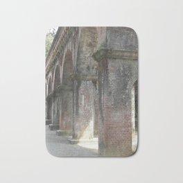 Old World Brick Aqueduct Bath Mat