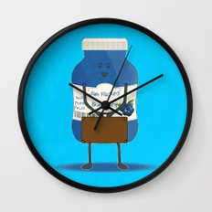 Jam packed Wall Clock