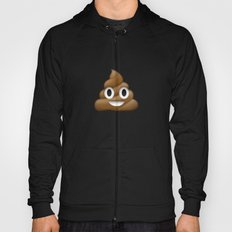 Smiling Poo Emoji (Colored Background) Hoody