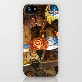 More Moroccan Lamps iPhone Case