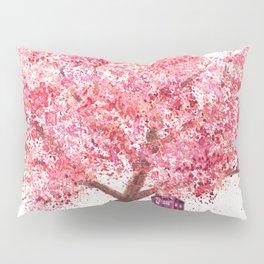 Tardis Tree Art Blossom Pillow Sham